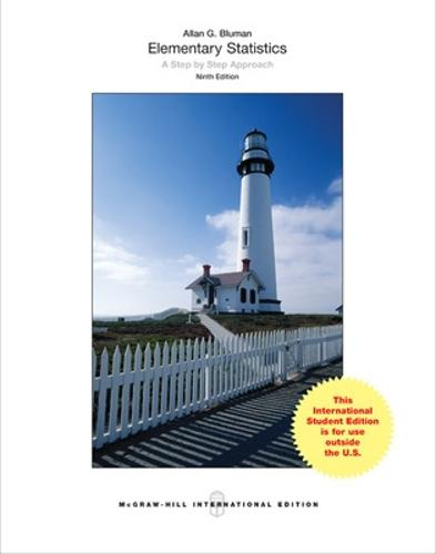 Elementary Statistics: A Step By Step Approach (Int'l Ed)