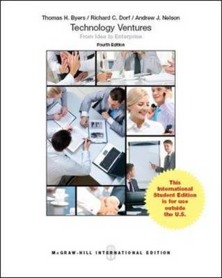 Technology Ventures: From Idea to Enterprise (Int'l Ed) (Paperback)