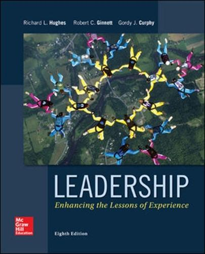 Leadership: Enhancing the Lessons of Experience (Paperback)