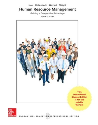 ISE HUMAN RESOURCE MANAGEMENT (Paperback)
