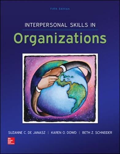 Interpersonal Skills in Organizations (Int'l Ed) (Paperback)