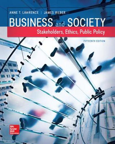 Business and Society: Stakeholders, Ethics, Public Policy (Hardback)