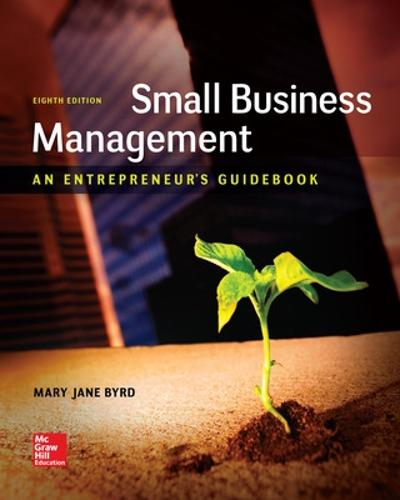 Small Business Management: An Entrepreneur's Guidebook (Paperback)