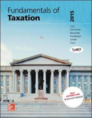 MP Fundamentals of Taxation 2015 with TaxAct