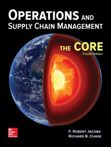 Operations and Supply Chain Management: The Core (Hardback)