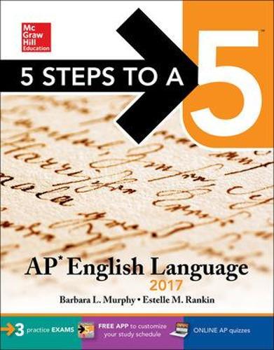 5 Steps to a 5: AP English Language 2017 (Paperback)