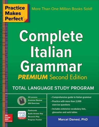 Practice Makes Perfect: Complete Italian Grammar, Premium Second Edition (Paperback)