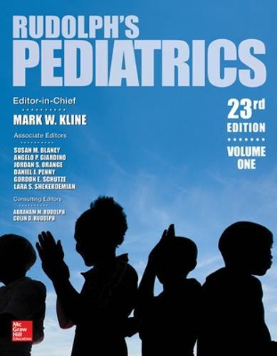 Rudolph's Pediatrics (Hardback)
