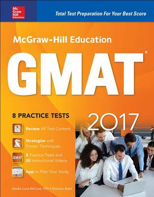 McGraw-Hill Education GMAT 2017 (Paperback)