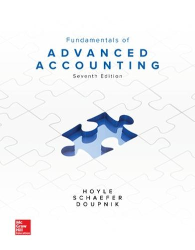 Fundamentals of Advanced Accounting (Hardback)