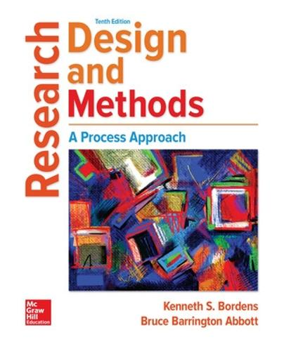 Research Design and Methods: A Process Approach (Hardback)