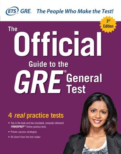 The Official Guide to the GRE General Test, Third Edition (Paperback)