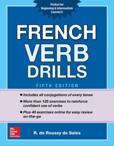 French Verb Drills, Fifth Edition (Paperback)