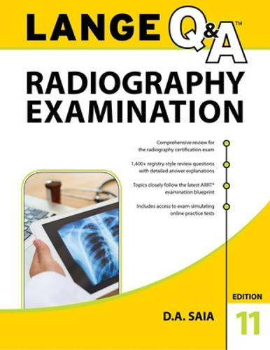 LANGE Q&A Radiography Examination (Paperback)