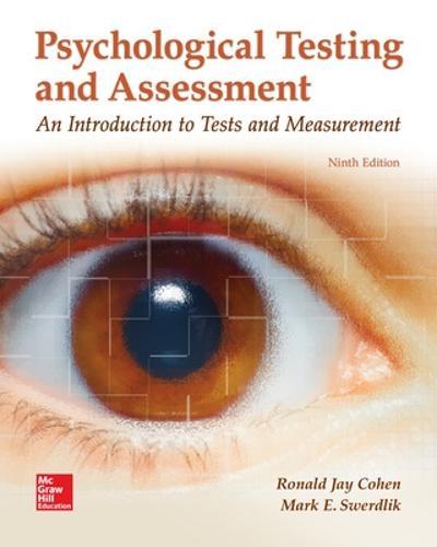 Psychological Testing and Assessment (Paperback)