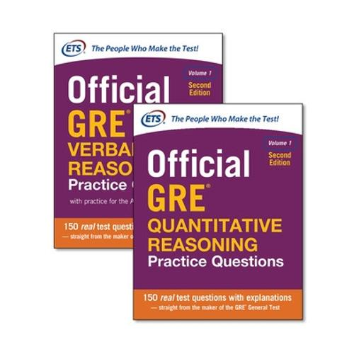 Official GRE Value Combo (Paperback)