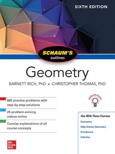 Schaum's Outline of Geometry, Sixth Edition (Paperback)