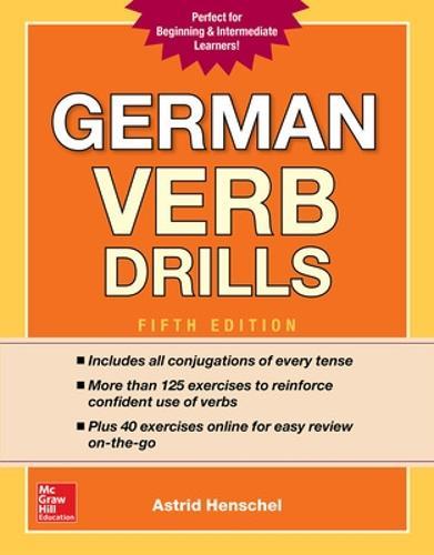 German Verb Drills, Fifth Edition (Paperback)