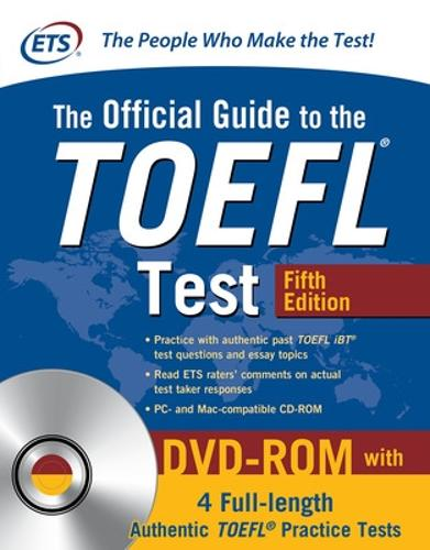 The Official Guide to the TOEFL Test with DVD-ROM, Fifth Edition (Paperback)