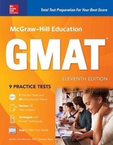 McGraw-Hill Education GMAT, Eleventh Edition (Hardback)