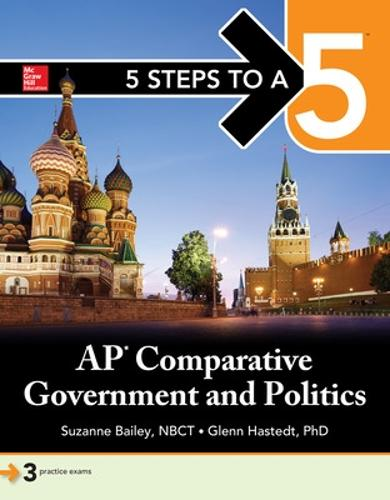 5 Steps to a 5: AP Comparative Government (Paperback)