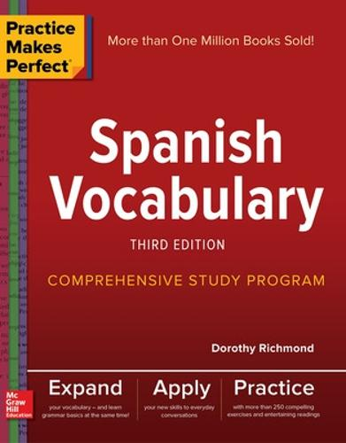 Practice Makes Perfect: Spanish Vocabulary, Third Edition (Paperback)