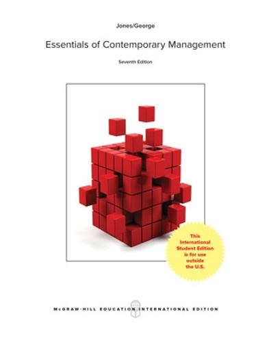 ISE ESSENTIALS OF CONTEMPORARY MANAGEMENT (Paperback)