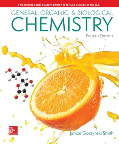 ISE General, Organic, & Biological Chemistry (Paperback)