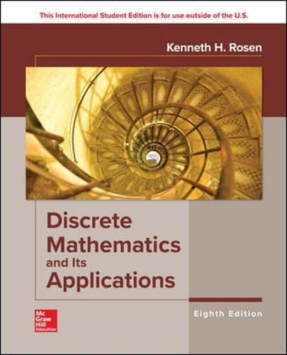 ISE Discrete Mathematics and Its Applications (Paperback)