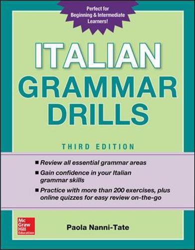 Italian Grammar Drills, Third Edition (Paperback)