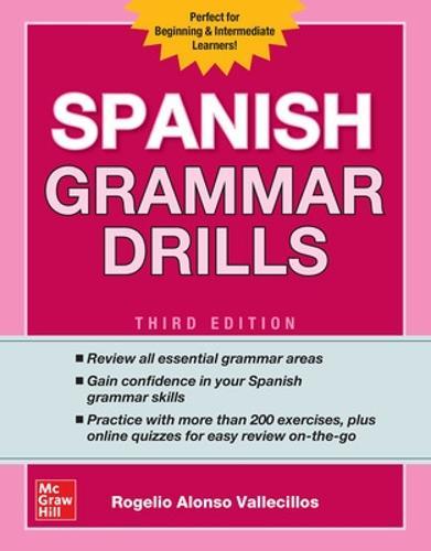 Spanish Grammar Drills, Third Edition (Paperback)