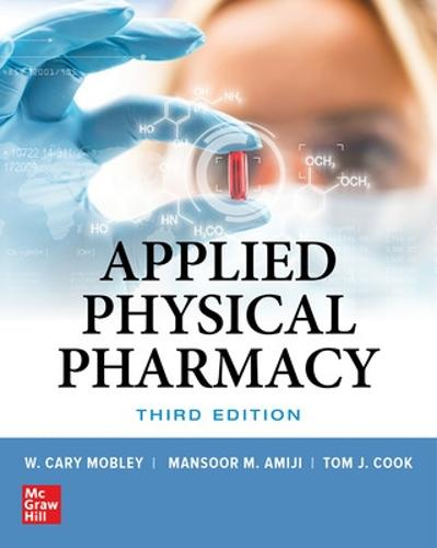 Applied Physical Pharmacy, Third Edition (Hardback)