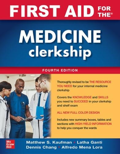 First Aid for the Medicine Clerkship, Fourth Edition (Paperback)
