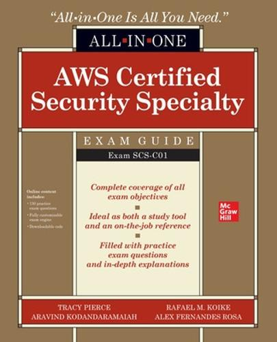 AWS Certified Security Specialty All-in-One Exam Guide (Exam SCS-C01) (Paperback)