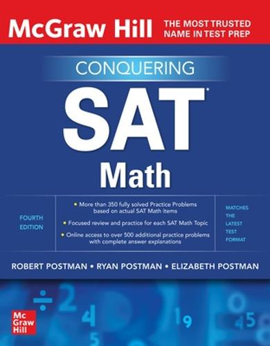 McGraw-Hill Education Conquering SAT Math, Fourth Edition (Paperback)