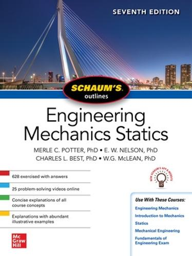 Schaum's Outline of Engineering Mechanics: Statics, Seventh Edition (Paperback)