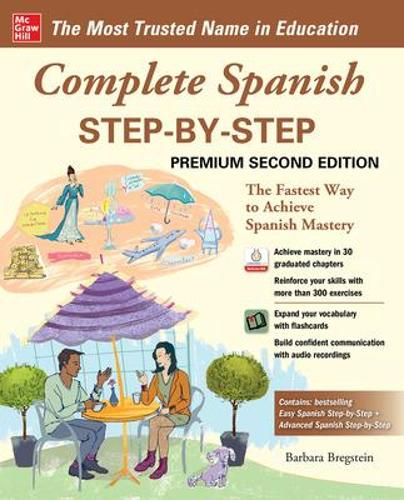 Complete Spanish Step-by-Step, Premium Second Edition (Paperback)