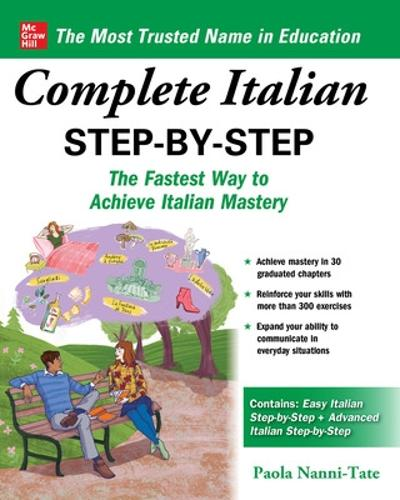 Complete Italian Step-by-Step (Paperback)
