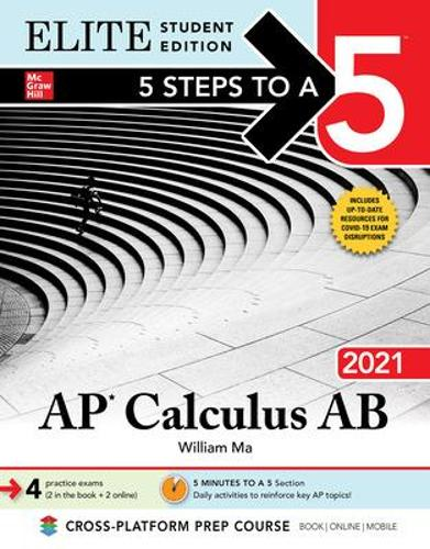 5 Steps to a 5: AP Calculus AB 2021 Elite Student Edition (Paperback)