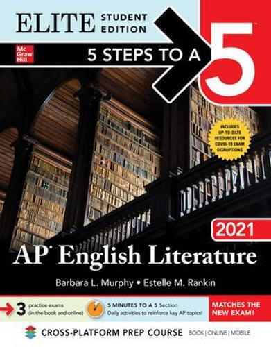 5 Steps to a 5: AP English Literature 2021 Elite Student edition (Paperback)