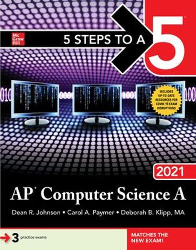 5 Steps to a 5: AP Computer Science A 2021 (Paperback)