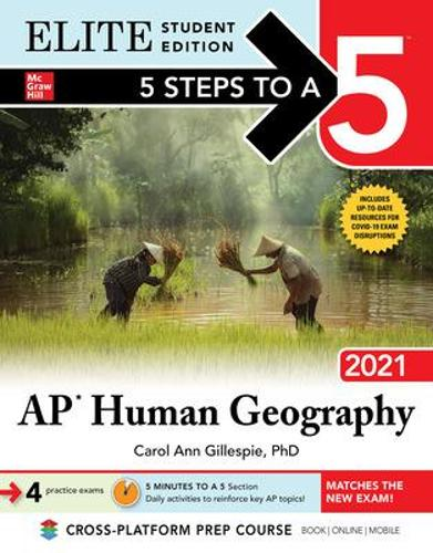 5 Steps to a 5: AP Human Geography 2021 Elite Student Edition (Paperback)