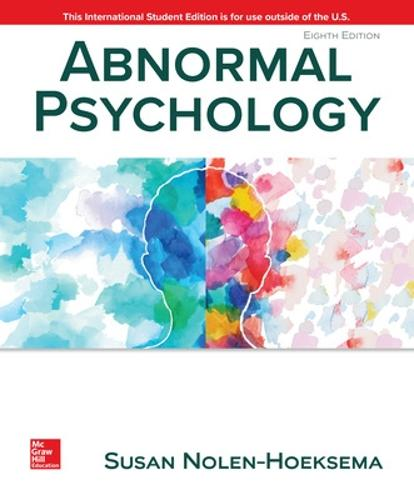 Abnormal Psychology (Paperback)