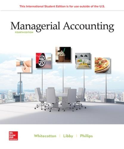 ISE Managerial Accounting (Paperback)