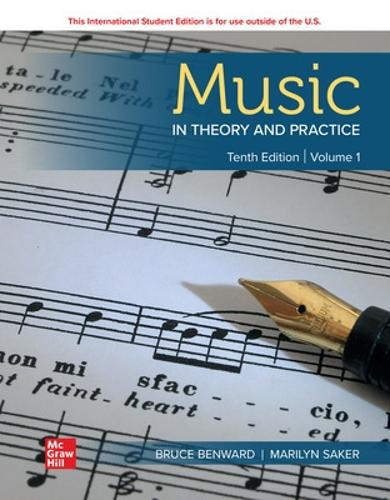 ISE Music in Theory and Practice Volume 1 (Paperback)