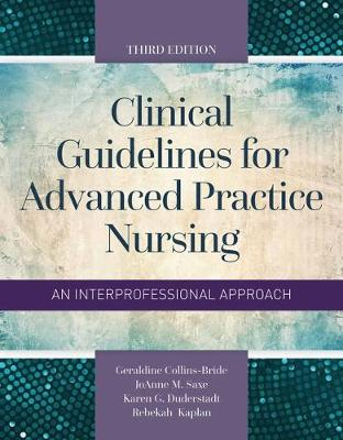 Clinical Guidelines For Advanced Practice Nursing (Paperback)