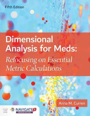 Dimensional Analysis For Meds (Hardback)