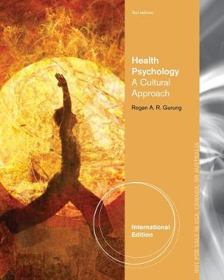 Health Psychology: A Cultural Approach, International Edition (Paperback)