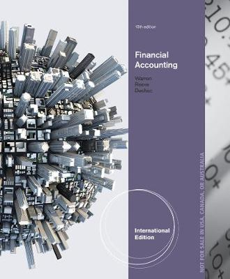Financial Accounting, International Edition (Paperback)
