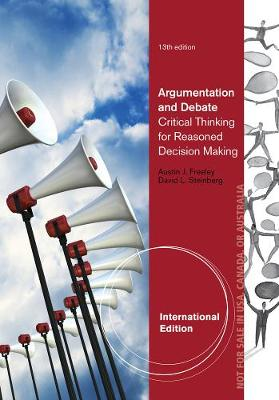 Argumentation and Debate, International Edition (Paperback)